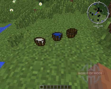 MC WoodenBucket для Minecraft