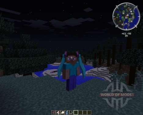 TwinTails для Minecraft