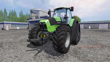 Deutz-Fahr Agrotron 7250 TTV FL QuadTrac для Farming Simulator 2015