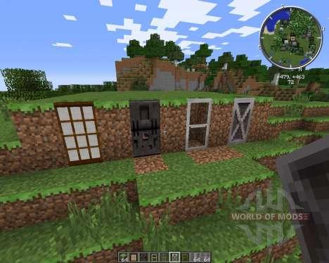 Malisis Doors для Minecraft