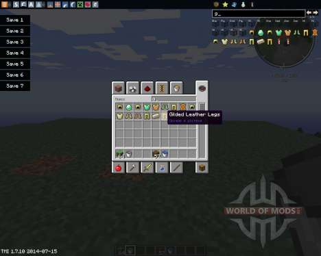 Gilded Armor для Minecraft