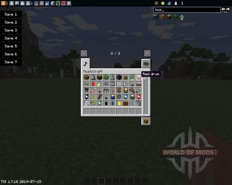 MusicCraft для Minecraft