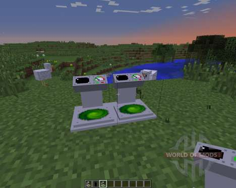 Transport для Minecraft