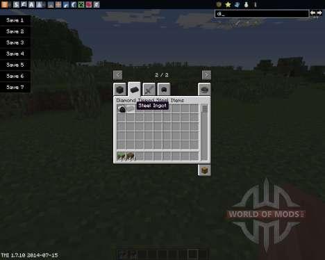 Diamond Tipped Steel для Minecraft