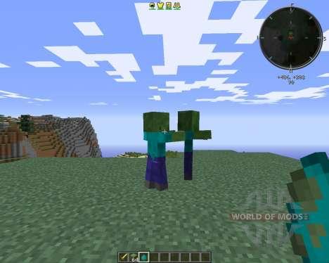 CrackedZombie для Minecraft