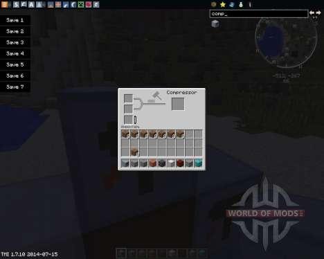 Master Smith Stuff для Minecraft