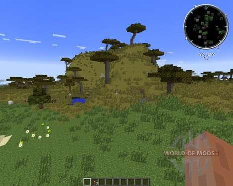 No Cubes (Smooth Terrain) для Minecraft