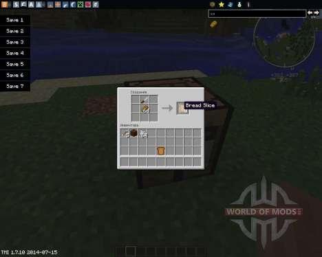 Sliced для Minecraft
