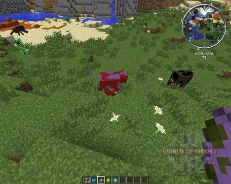 Elemental Cows для Minecraft
