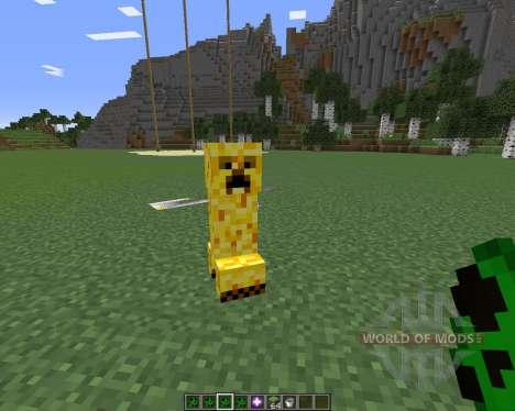 Creeper Species для Minecraft