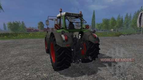 Fendt 828 Vario v4.1 для Farming Simulator 2015