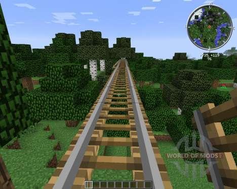 Rail Bridges для Minecraft