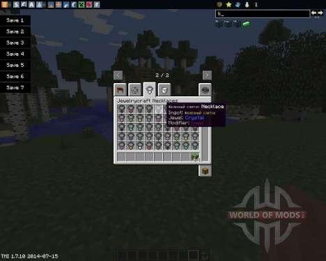JewelryCraft для Minecraft