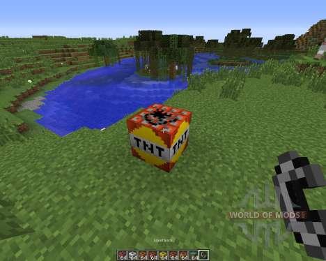 Explosives Plus Plus для Minecraft