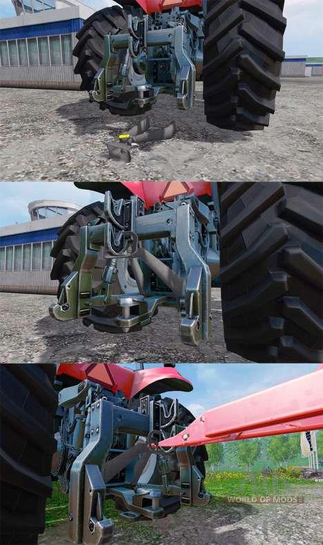 Дополнительные сцепки для Farming Simulator 2015
