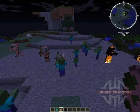 Special Mobs для Minecraft