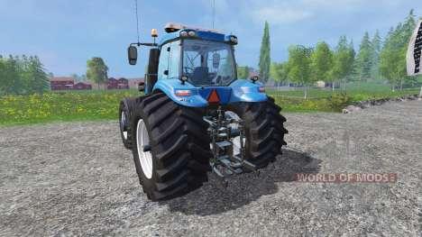 New Holland T8.320 600EVOX v1.11 blue для Farming Simulator 2015