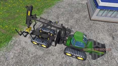 John Deere 1510E для Farming Simulator 2015
