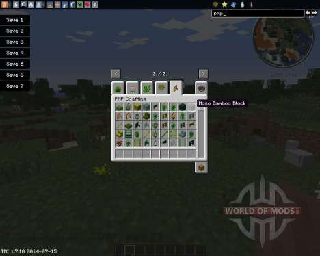 Plant Mega Pack для Minecraft