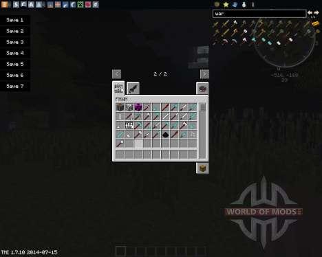 Medieval War-Weapons для Minecraft