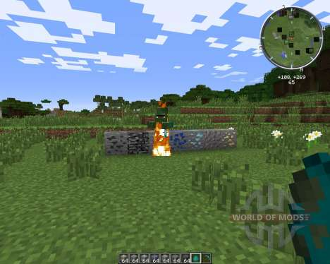 Roulette Ores для Minecraft