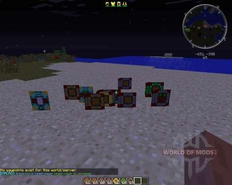 Advanced Inventory для Minecraft