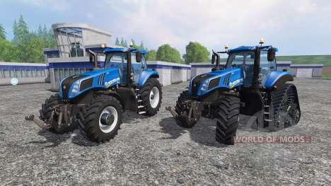 New Holland T8.320 and T8.435 SmartTrax для Farming Simulator 2015