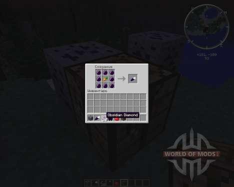 Obsidian Ores для Minecraft