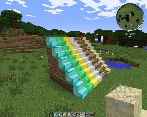 StairsPlusPlus для Minecraft