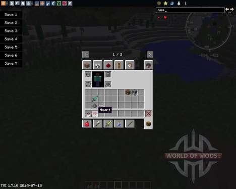 Configurable Health для Minecraft