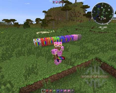 The Rainbow World для Minecraft