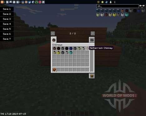 Chimneys для Minecraft