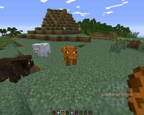 Mo Pigs для Minecraft
