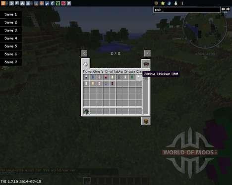 DNA для Minecraft
