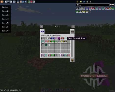 Mcrafters Siren для Minecraft