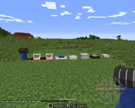 The Electrical Age для Minecraft