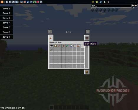 Mine Painter для Minecraft