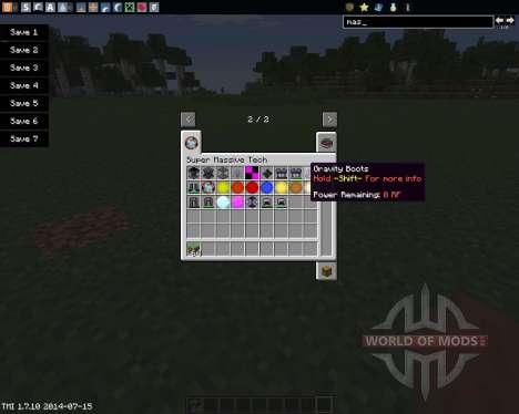 Super Massive Tech (Star Power) для Minecraft