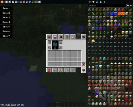 Drop Items Forever для Minecraft