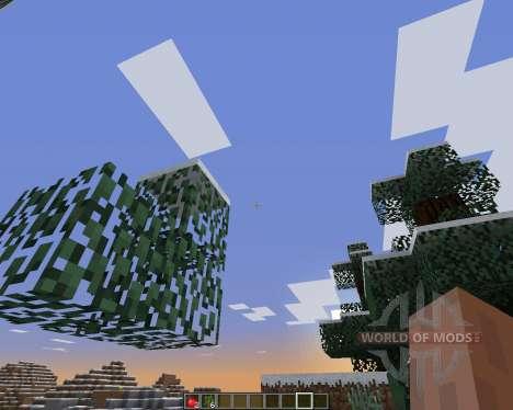 FastLeafDecay для Minecraft