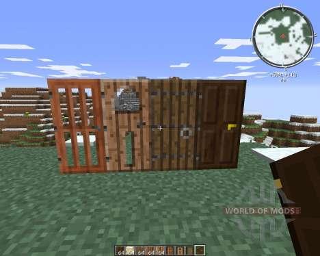 SnapDoors для Minecraft