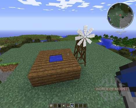 Multi-Windmills для Minecraft