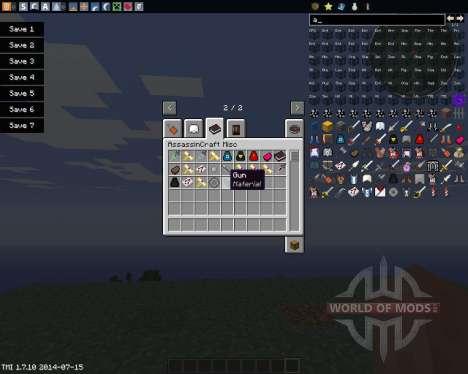 AssassinCraft для Minecraft