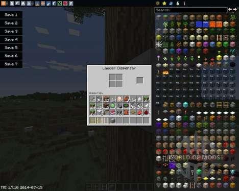 Ladders для Minecraft