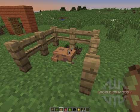 Water Mobs: Aycreature для Minecraft