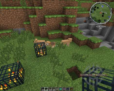 Copious Dogs by wolfpup для Minecraft
