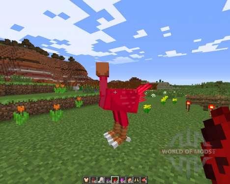 ChocoCraft для Minecraft