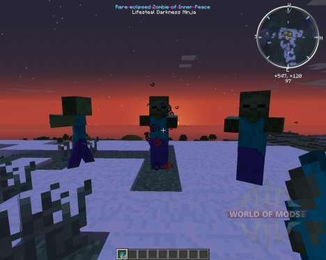 Infernal Mobs для Minecraft