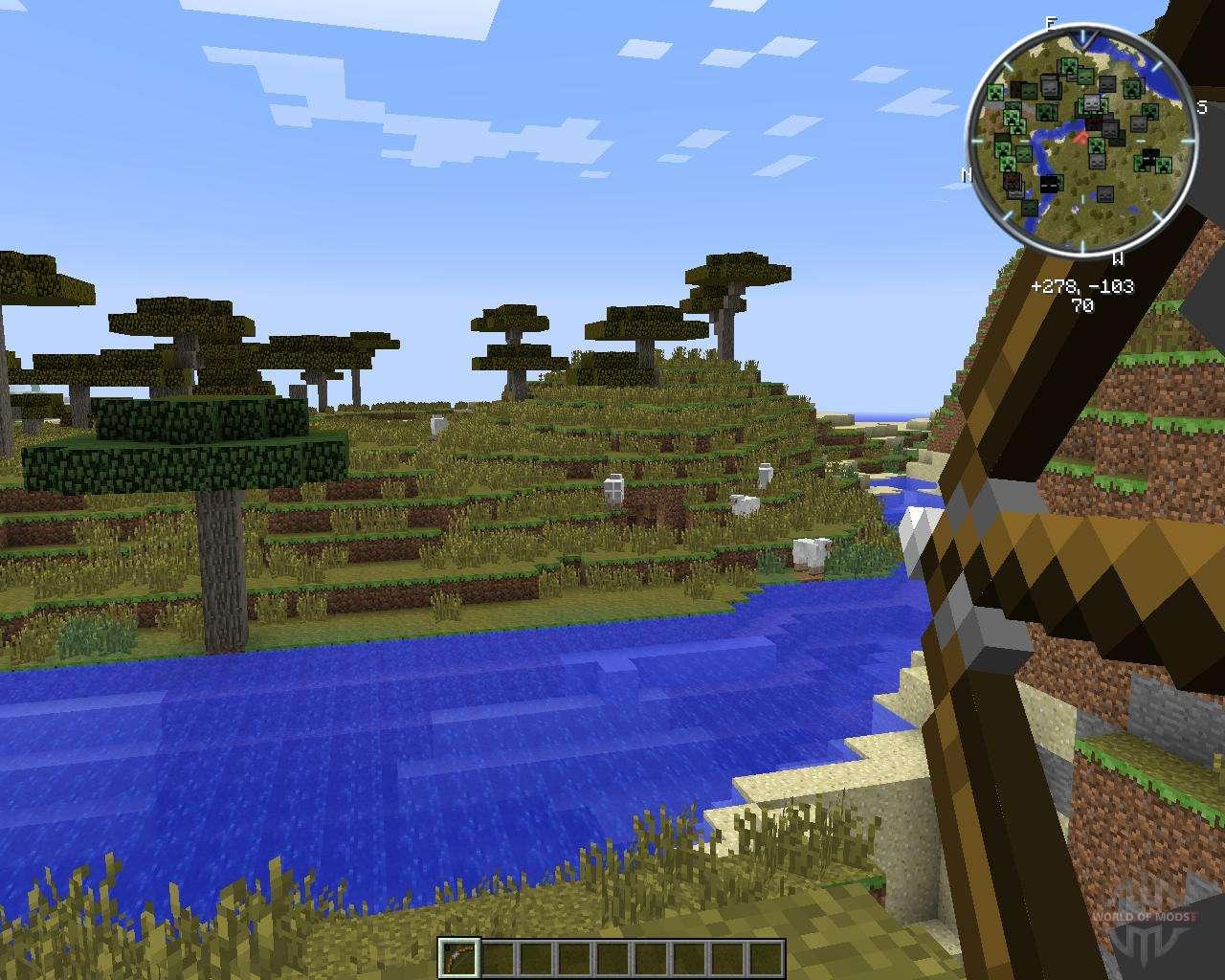 Как сделать лук на бесконечность в minecraft