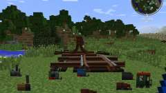 Rails of War Mod для Minecraft